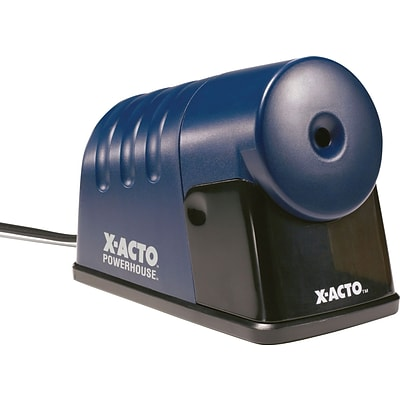 X-ACTO Powerhouse 1792 Electric Pencil Sharpener Blue