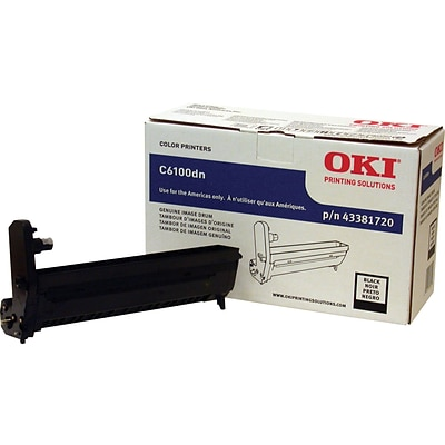 OKI® Black Drum Cartridge (43381720)