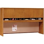 Bush® Corsa 72 Cherry 4-Door Hutch