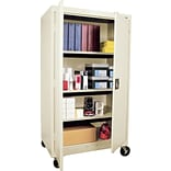 Sandusky 66x46x24 Mobile Cabinet Putty