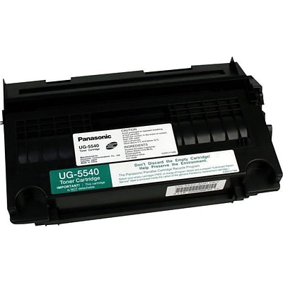 Panasonic® UG5540 High-Yield Fax Toner, Black