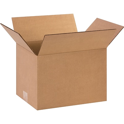12(L) x 9(W) x 8(H) Shipping Boxes, 32 ECT, Brown, 25 /Bundle(1298)