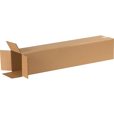 6 x 6 x 30 Shipping Boxes, 32 ECT, Brown, 25 /Bundle(6630)