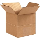 4(L) x 4(W) x 4(H) Multi Depth Shipping Boxes, 32 ECT, Brown, 25 /Bundle(MD444)