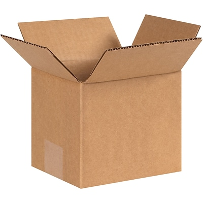 6 x 5 x 5 Shipping Boxes, 32 ECT, Brown, 25 /Bundle(655)