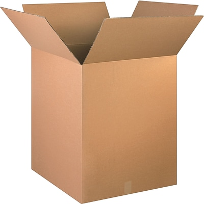 24(L) x 24(W) x 30(H) Shipping Boxes, 32 ECT, Brown, 10/Bundle (242430)
