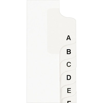 Avery® Individual Legal Dividers Avery® Style 1423, Letter Size, Tab W