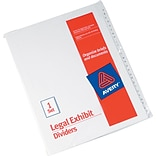 Avery® Collated Legal Exhibit Divider Sets - Allstate® Style, Letter Size, Side Tab, A-Z, 1/St
