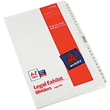 Avery Legal Side Tab Divider, Tab Title: A-Z, White, 8 1/2 x 14