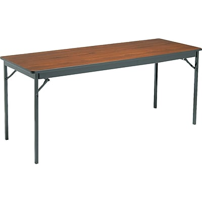 Rectangular Folding Table, 30Hx24Wx72L