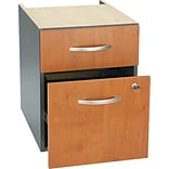 Bush® Corsa Natural Cherry 2-Drawer Pedestal