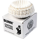 Bunn® Flat Bottom Commercial Coffee Filters...
