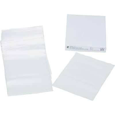 C-Line Poly Zip Shop Ticket Holder, Clear, 8 1/2 x 11, 50/Bx