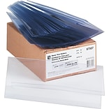 C-Line Rigid Heavyweight Plastic Tent Holders, 4 1/4 x 11, 25/Bx
