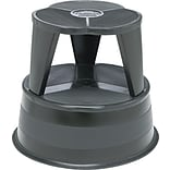 Cramer® KIK Step Black Rolling Stool