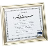 DAX Document Frame, Antique Silver, 8 1/2 x 11