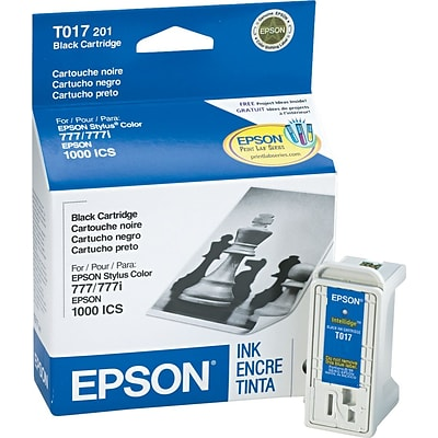 Epson 17 Black Ink Cartridge (T017201)