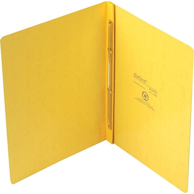 Pendaflex PressGuard® Report Cover with 2-Piece Fastener, Yellow, 8 1/2 x 11