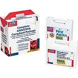 First Aid Only™ ANSI/OSHA Hard Plastic First Aid Kit for 50 People (228-CP)