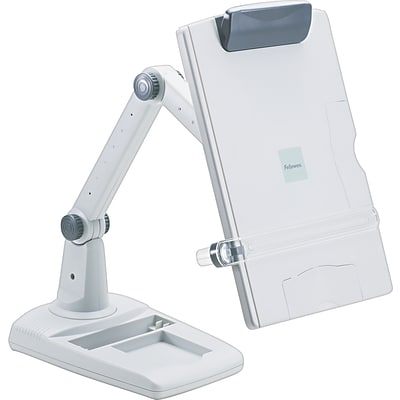 Fellowes® Premier Flex Arm Copyholders, Weighted Base Model