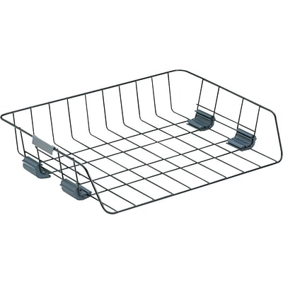 Wire Self Stackable Paper Tray, Side Loading, Letter Size