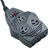 Fellowes® 99091 8-Outlet 1460 Joule Surge Protector With 6 Cord