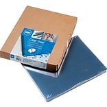 Clear View Presentation Binding System Cover; 11-1/4 x 8-3/4, Clear, 100/Box