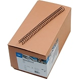 GBC WireBind Binding Spines, Black, 1/2 Size, 100 Sheet Capacity, 100/pack