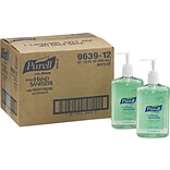 Purell® Instant Hand Sanitizer with Aloe, 12 fl. oz. Pump Dispenser, 12/Carton
