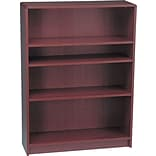 Radius-Edge Laminate Bookcases; 48-3/4H