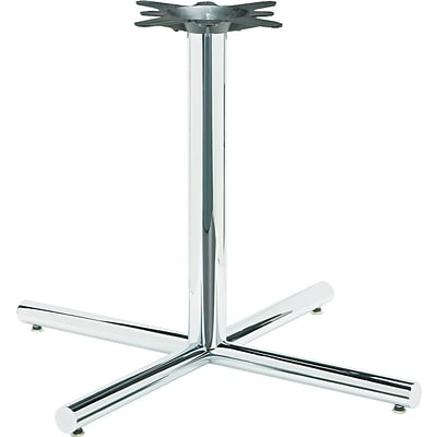 HON Hospitality Table Base for 42 Square and Round Tops, X-Style, Chrome Finish NEXT2018 NEXTExpress