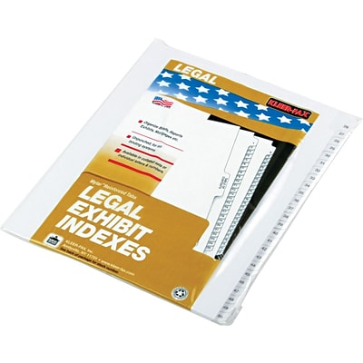 Side-Tab, Letter Size, 26-50 Dividers All-State Compatible
