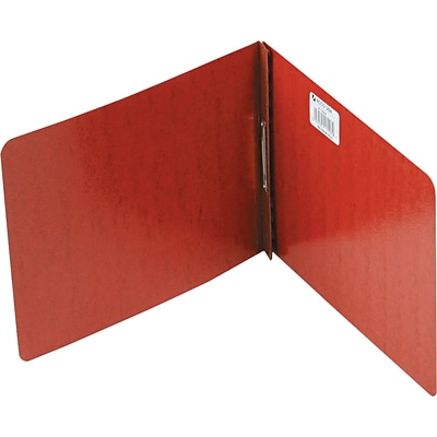 ACCO® PRESSTEX® Report Covers, Top Binding for Letter, 2 Cap, Red