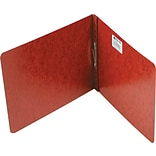 ACCO® Pressboard Report Covers, Top Binding for Letter, 2 Cap, Red