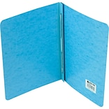 ACCO® PRESSTEX® Covers, Side Binding for Letter Size Sheets, 3 Capacity, Light Blue