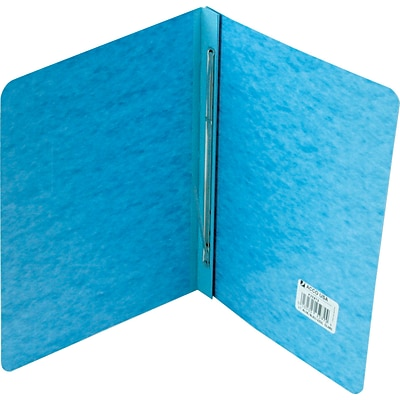 ACCO® Pressboard Report Covers, Side Binding for Letter, 3 Capacity, Light Blue