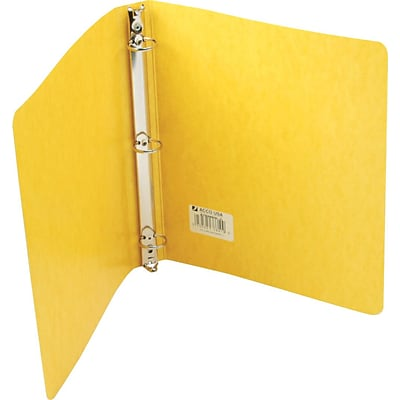 Wilson Jones® PRESSTEX® Ring Binder, Round Ring, 1, Yellow