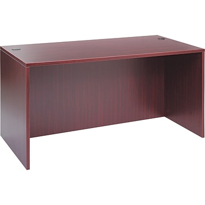 Alera™ Valencia Series Executive Suites in Mahogany, Straight Front Desk Shells, 60W