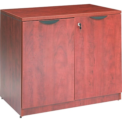 Alera® Valencia Series Executive Suites Lateral File Cabinet, Medium Cherry, Legal (VA613622MC)