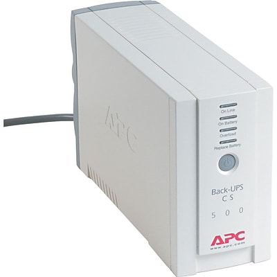APC® Back-UPS CS500 for Desktop 386, 486, and Pentium Systems