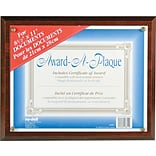 Nu-Dell Walnut Award-A-Plaque
