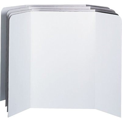 Pacon Spotlight™ Presentation Boards, White Boards, 48 x 36, 4/Ct