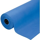 Pacon Rainbow Duo-Finish Colored Kraft Paper, 40 lb., Royal Blue, 36 x 1000
