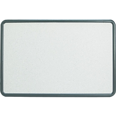 Contempo Bulletin Board, Contour Granite with Black Frame