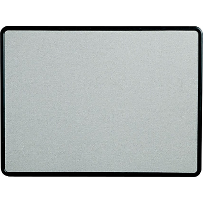 Quartet® Contour® Fabric Bulletin Boards, 2Hx3W, Grey