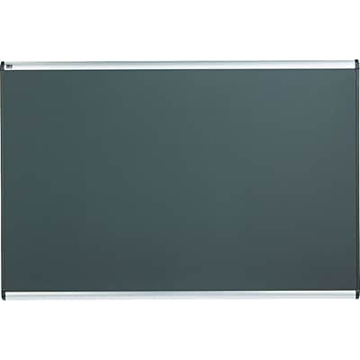 Quartet® Prestige® Grey Diamond Mesh Boards, Aluminum, 48H x 72W