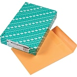 Quality Park Redi-Seal™ Self-Seal Open-End Catalog Envelopes, 9 x 12, Brown, 100/Bx (QUA43567)