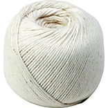 10-Ply White Cotton String in Ball