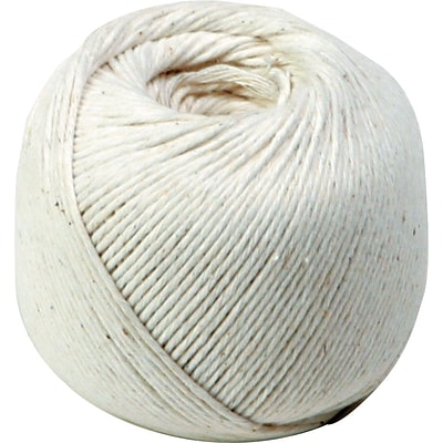 Quality Park® White Cotton String in Ball, 10-Ply, 475 Feet