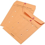 Quality Park String & Button Recycled Two-Sided Standard Style Inter-Department Envelopes, 10 x 13